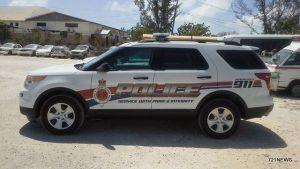 police car turks caicos-001