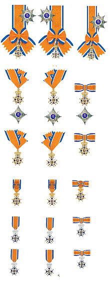 220px-Orde_van_Oranje-Nassau_in_2012_Model-_en_damesversierselen