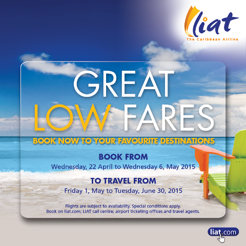 Great New Fares From LIAT