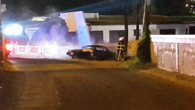 Car on Fire collarita road  (4)
