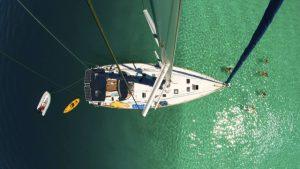 Corina IV and crew in Bora Bora-001