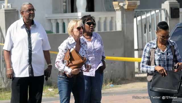The prosecutor team reaching at scene of this morning in Happy Estate.