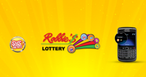 Robbie's Lottery SMS