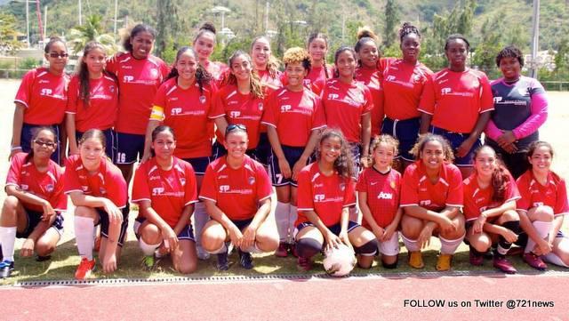 Sint Maarten Soccer team