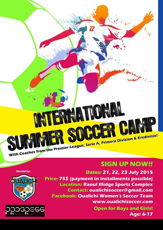 flyer International Summer Soccer Camp 2015