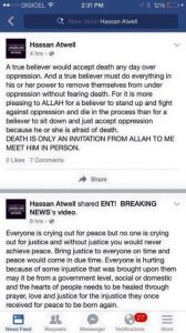Hassan Atwell Facebook page