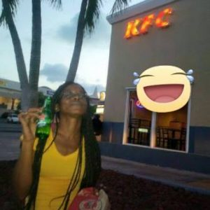 JR at KFC