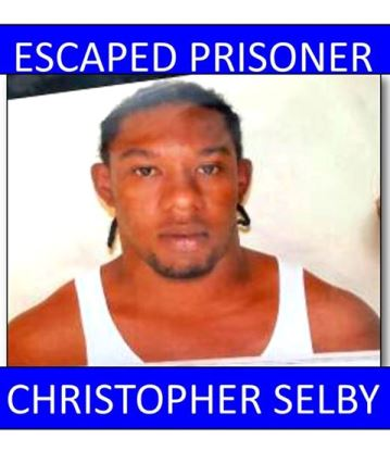 Christopher Selby is still at large. Facebook Photo