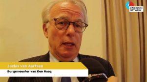 "Mayor of the Hague Jozias van Aartsen called the cause of death ""tragic and shocking"". Caribesnetwerk Photo"