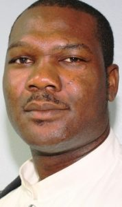 PC Lawford Brown of the Royal Anguilla Police Force