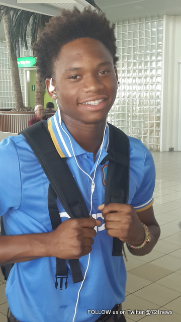 Keacy Carty has been selected in the West Indies U19 team for the ICC Youth World Cup in Bangladesh.