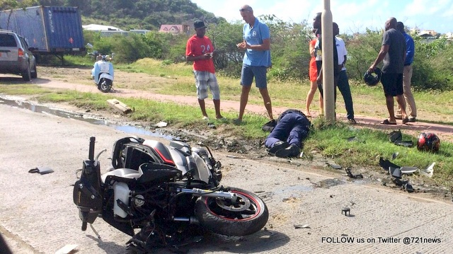 Accident Scooter a1-001