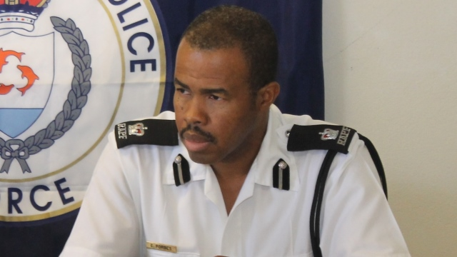 Acting Commissioner of Police (RAPF), Mr. Elliott Forbes