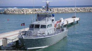 Antigua Coast Guard boat
