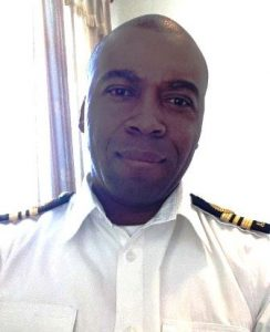 Acting head of the Coast Guard, Lieutenant Commander, Elroy Skerritt