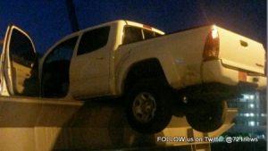 Truck on bridge deck-001
