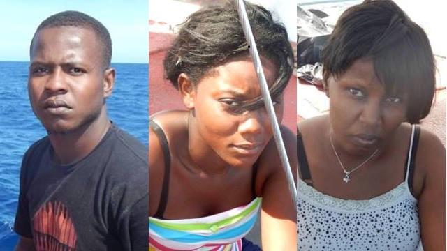 Jackob Orlando,Stephanie Pierre and Katia Pierre, Nationals of Haiti.