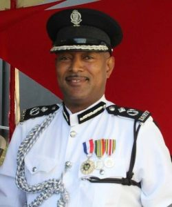 Commissioner of Police Ian Queeley
