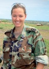 Maartje van der Maas, spokeswoman for the Ministry of Defense based in the Caribbean