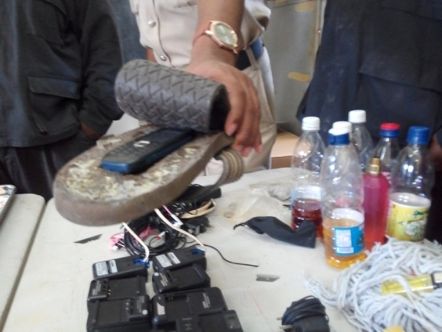 Cell phones, drugs, alcohol and makeshift weapons among items seized