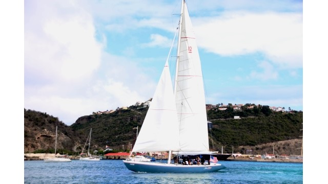 Stars & Stripes sails the ocean with foster kids on board during the 12 Metre Challenge