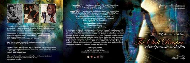 The Salt Reaper CD, poetry by Lasana M. Sekou, music by Angelo Rombley.