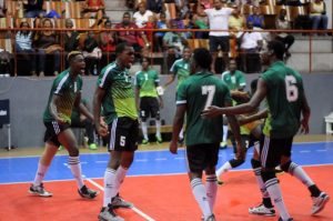 Celebration of Dominica against Grenada