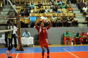 Isaac Nelson of Grenada sets against Dominica_ 01