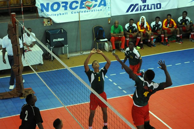 Isaac Nelson of Grenada sets against Saint Lucia_ 01