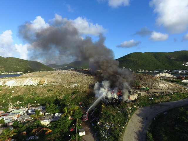 sxm island time 1 tires on fire