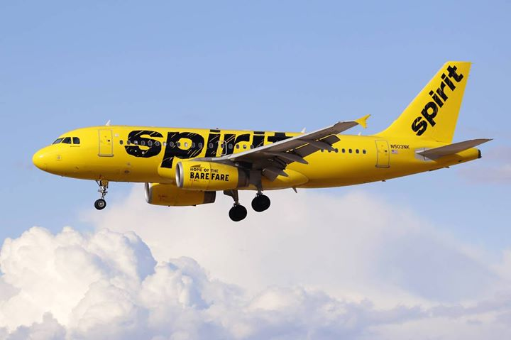 Spirit free relief flight thursday residents can book for Book a flight with spirit airlines