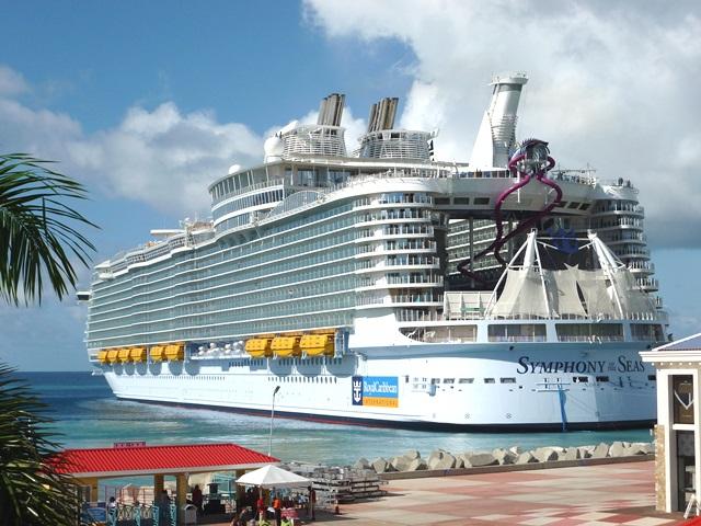 Royal Caribbean International Symphony Of The Seas Makes